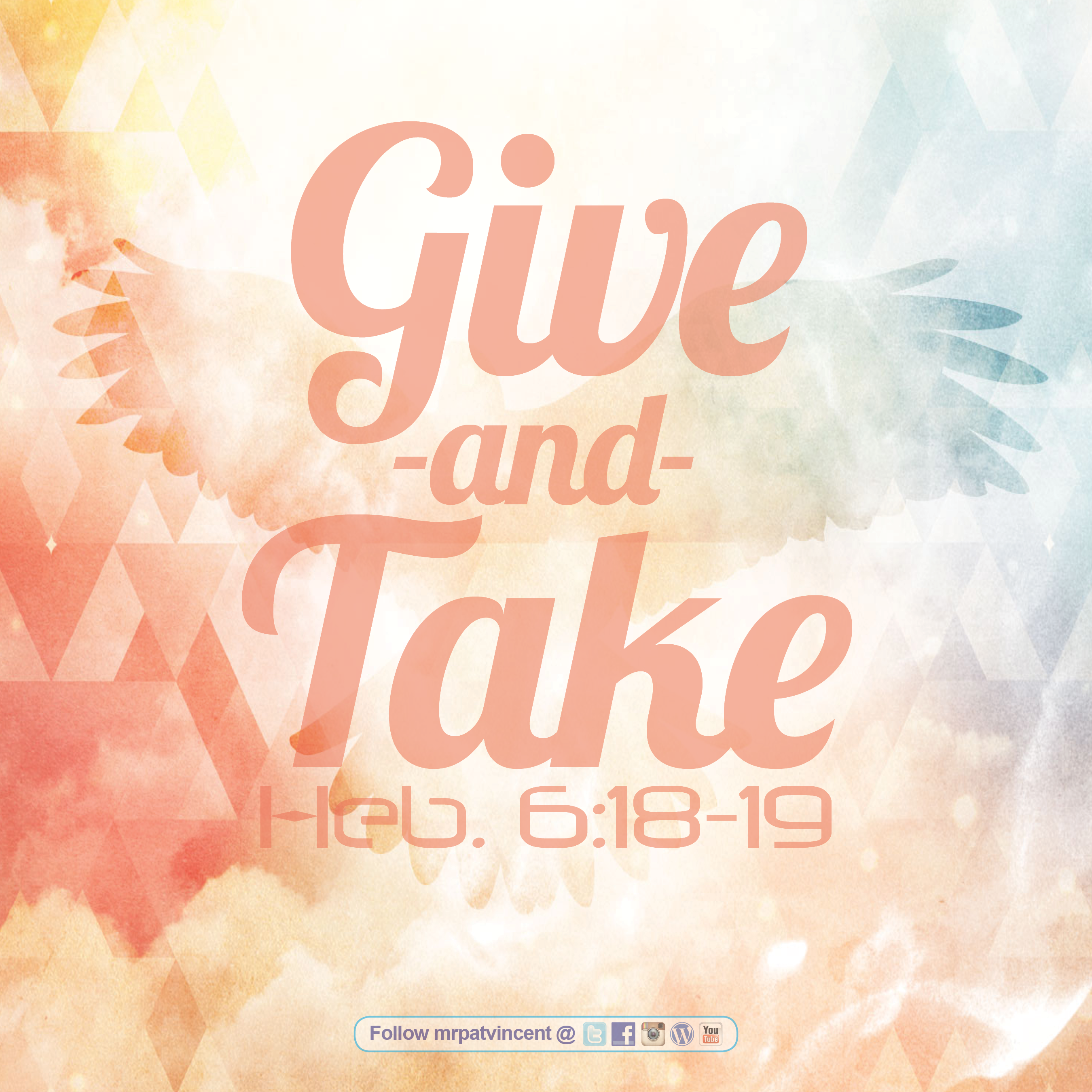 Give and Take | The Blog of Patrick Vincent