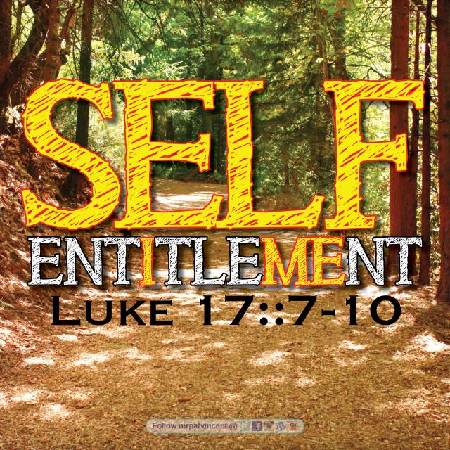 Luke 17:7-10