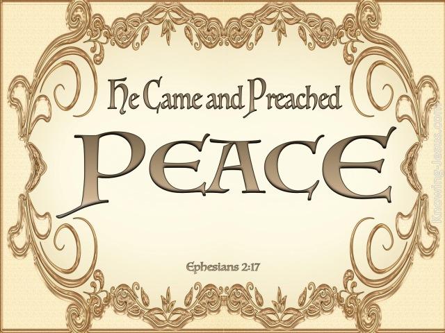 Eph 2 17